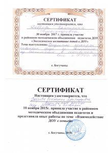 РМО сертификаты